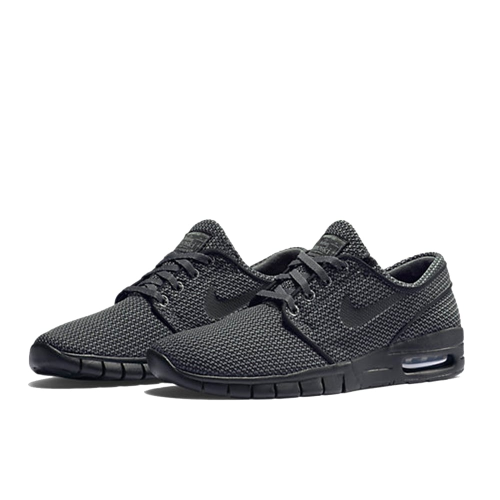nike stefan janoski max shoe dark grey black. Black Bedroom Furniture Sets. Home Design Ideas