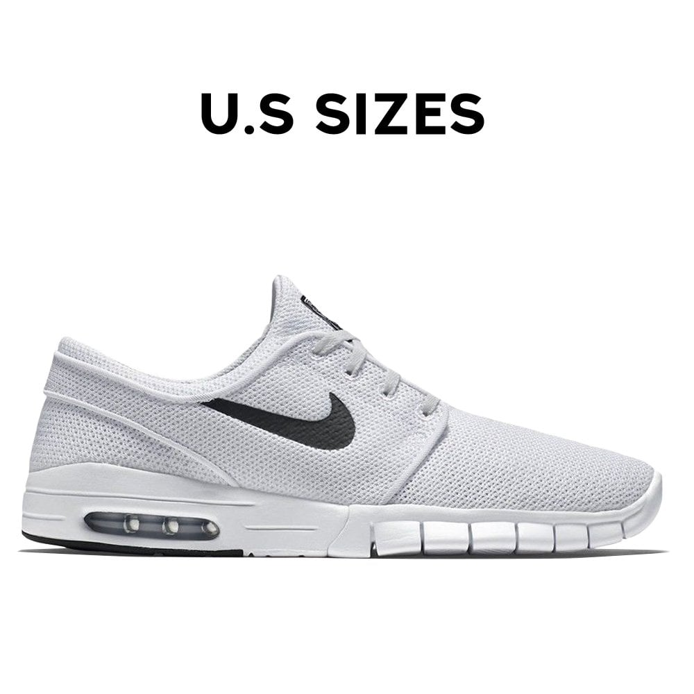 finest selection quite nice release info on Janoski Max - White/Black