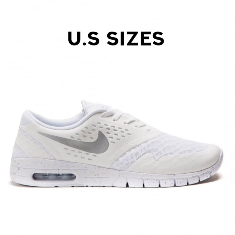 Nike SB Koston 2 Max - White/Metallic Silver