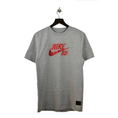 Lizard Camo Tee Grey/Red