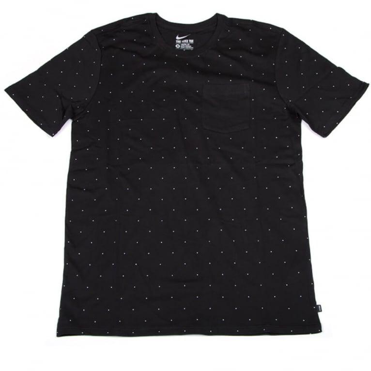 Nike SB Micro Dot Tee Black