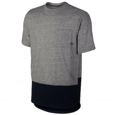 Panel Pocket T-shirt - Grey/Obsidian