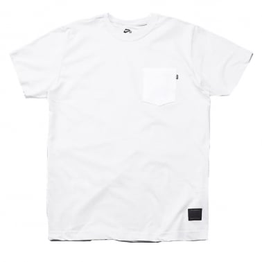 Pocket Tee Off White