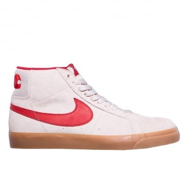 "QS Zoom Blazer Mid ""FTC"" - Light Bone/Brick Red"