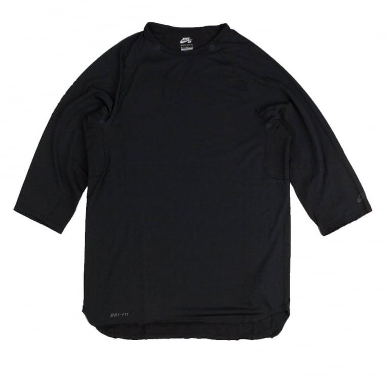 Nike SB Skyline 3/4 Sleeve T-shirt - Black