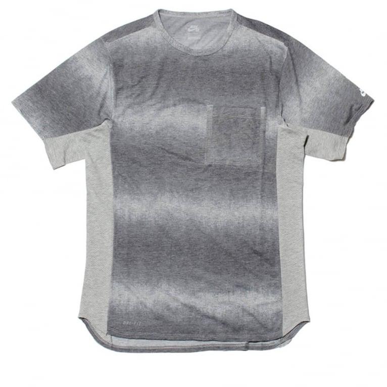 Nike SB Skyline Dip Fade Custom Tee Grey