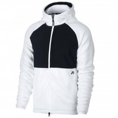 556f5f4045ff Therma Zip Hood - White Black · Nike SB ...