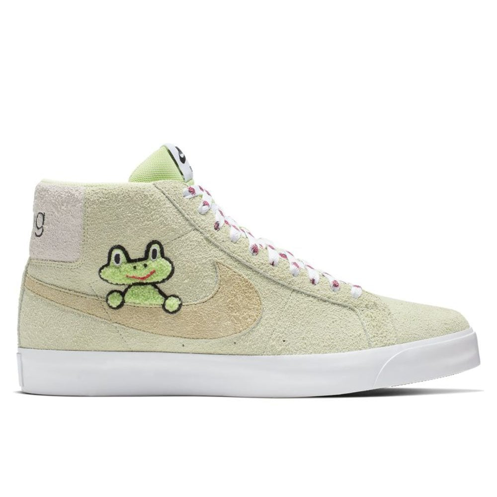 thoughts on later popular brand Nike SB x Frog Skateboards Zoom Blazer Mid - Liquid Lime