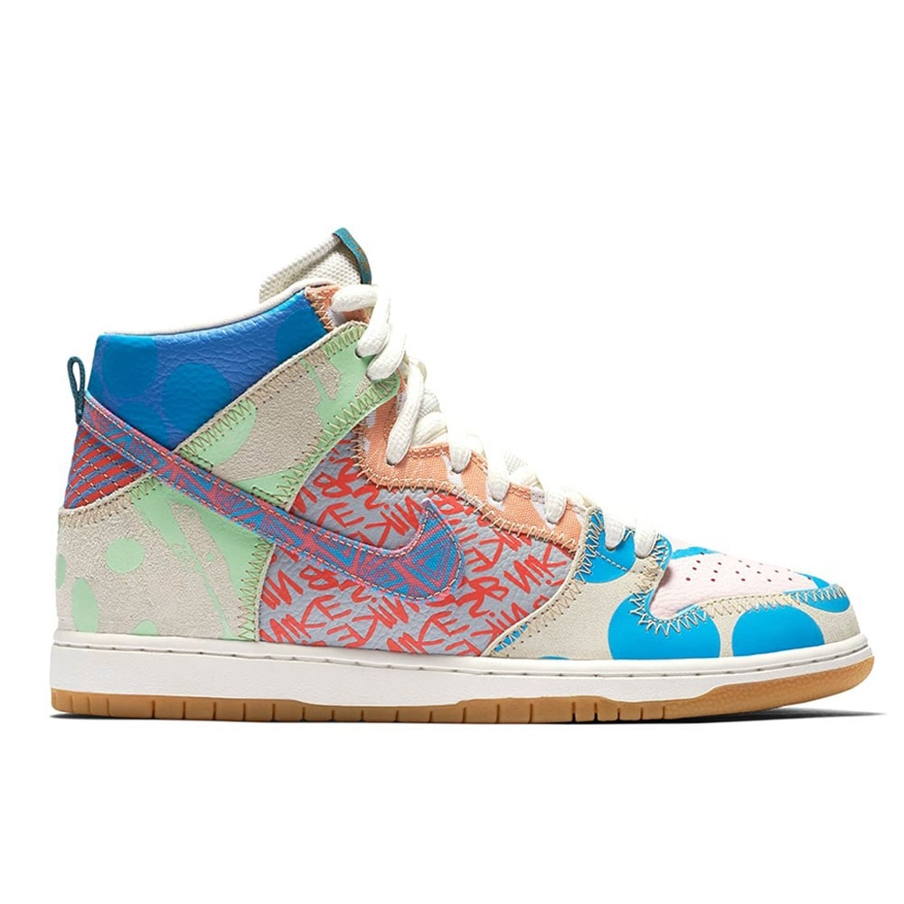 huge discount 3645a ace07 X Thomas Campbell Dunk High Premium Multi