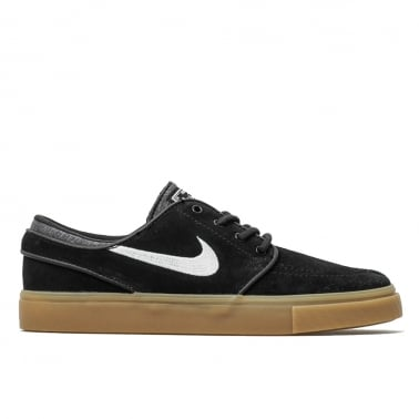 Zoom Janoski - Black/White/Gum