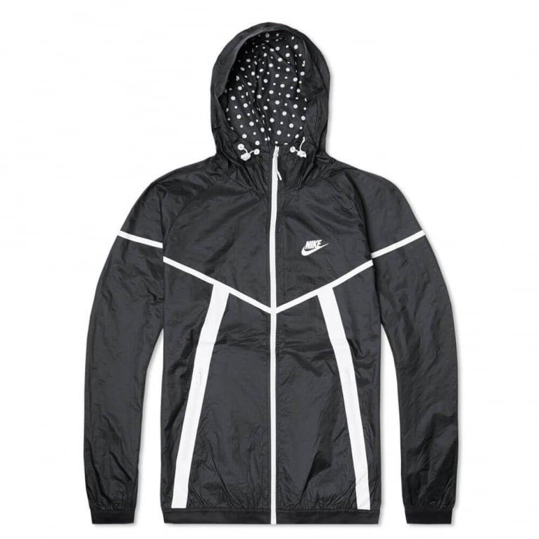 Nike Tech Windrunner - Black/White