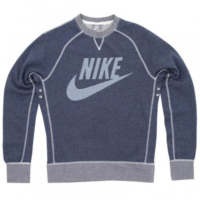 Nike Vintage Logo Crew - Blue