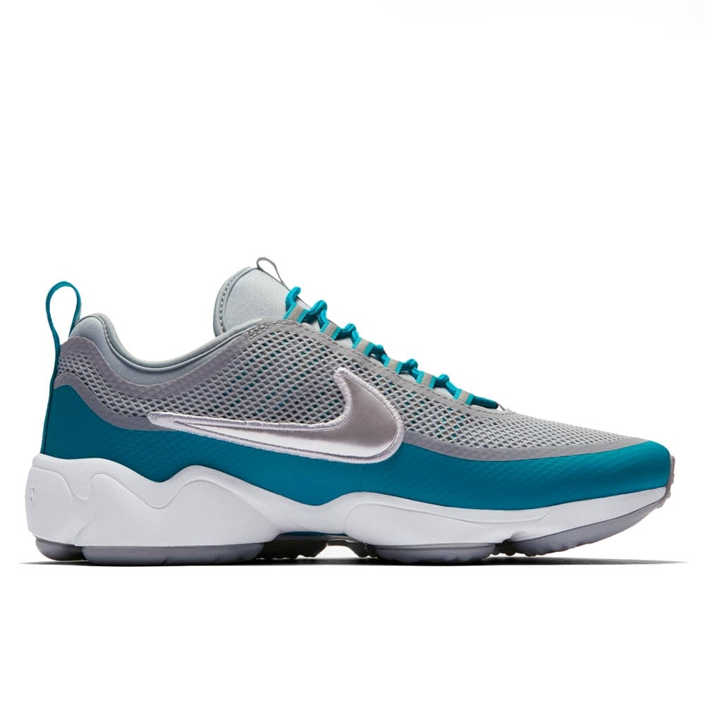 new images of exclusive shoes casual shoes Nike Zoom Spiridon Ultra - Wolf Grey/White/Metallic Platinum