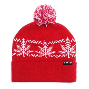 Nordic Beanie Red
