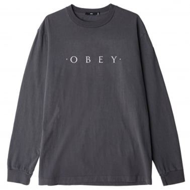 Novel Obey Long Sleeve T-Shirt