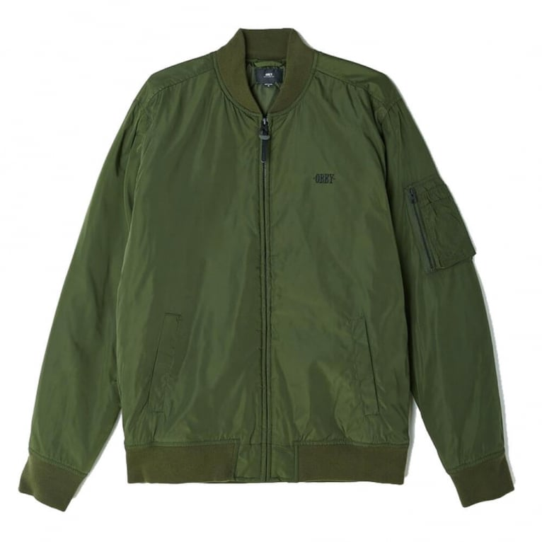Obey Alden Jacket - Army Green
