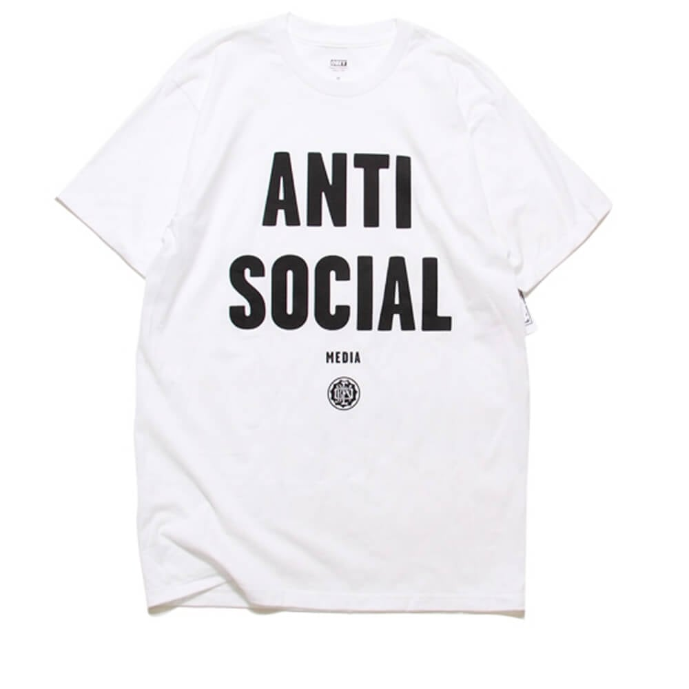 78d6d0d35 White Obey Anti Social Tee | Clothing | Natterjacks