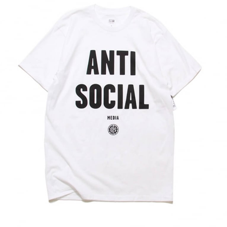 Obey Anti Social Tee - White