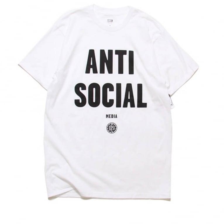 Obey Anti Social Tee - White