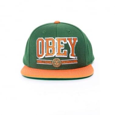 Athletics Snap Green/Orange
