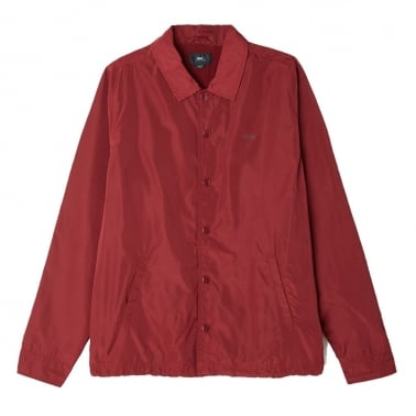 Baker Graphic Jacket - Burgundy