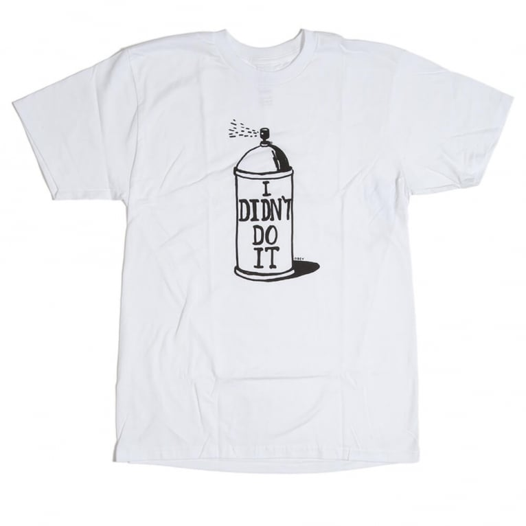 Obey Ban Can Tee - White