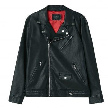 Bastards Vegan Leather Jacket - Black