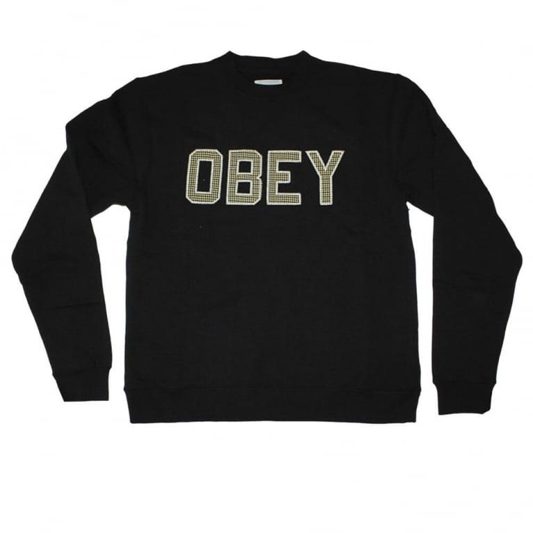 Obey Belton Crew Navy