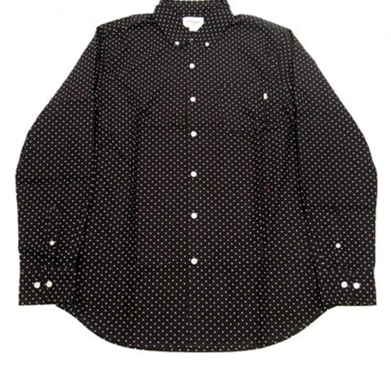 Obey Cass Long Sleeve Shirt Black