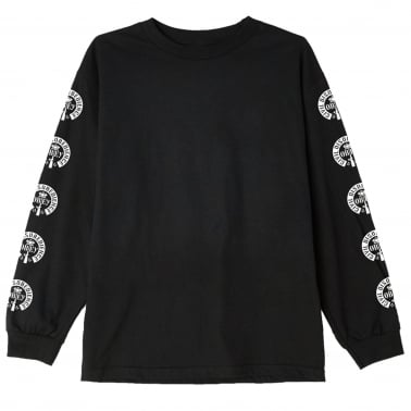 Civil Disobedience Long Sleeve T-Shirt - Black
