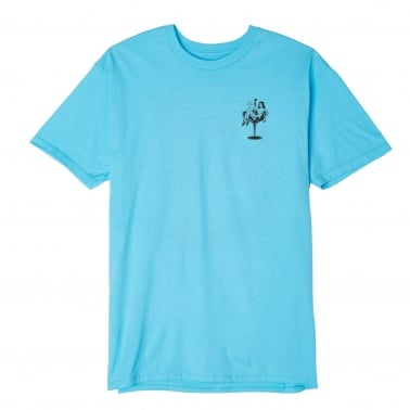 Cocktail Hour T-Shirt - Pacific Blue