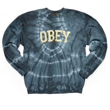 Collegiate Crewneck Sweatshirt - Dark Indigo