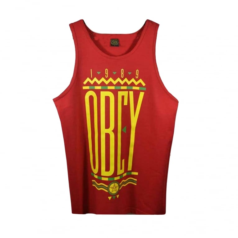 Obey Colour's Tank - Red
