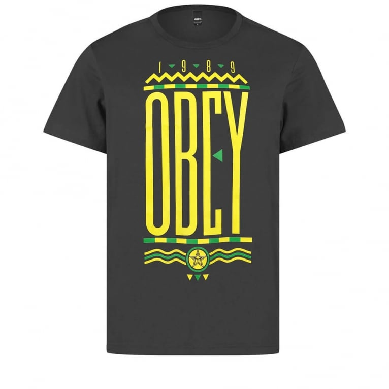 Obey Colours Tee Black