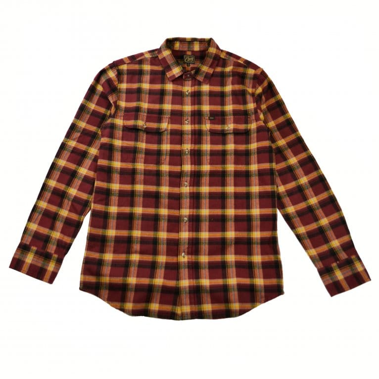 Obey Conner Shirt - Burgundy