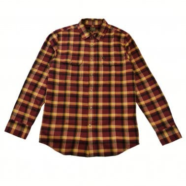Conner Shirt - Burgundy