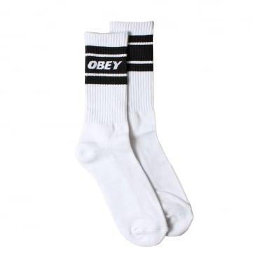 Cooper II Socks - White/Black