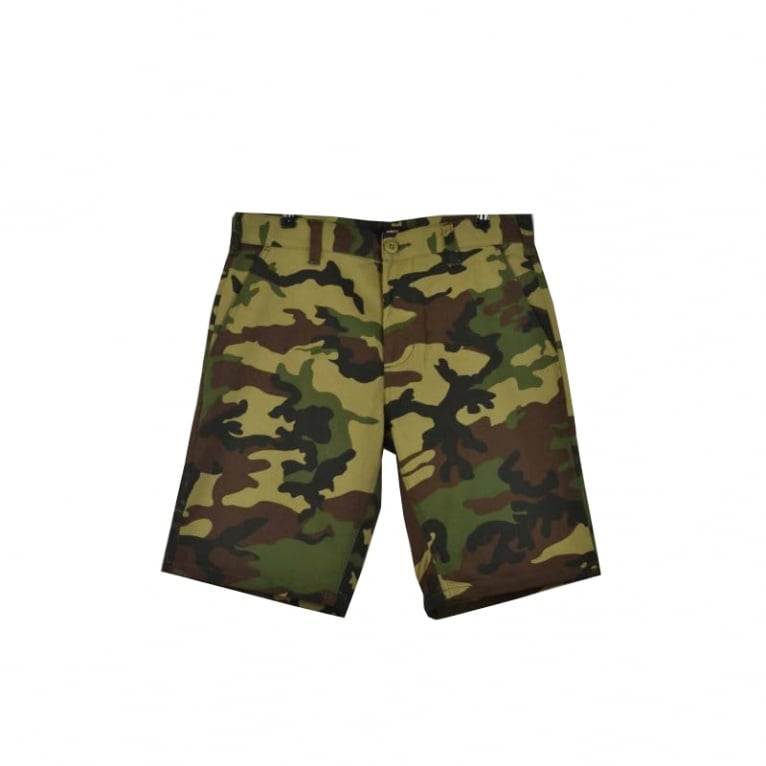 Obey Dissent Shorts Field Camo