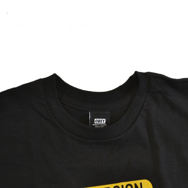 Obey Disturb The Comfortable T-Shirt - Black