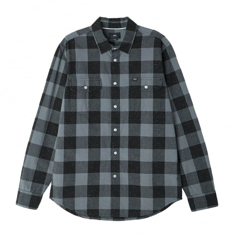 Obey Drifter Shirt - Charcoal