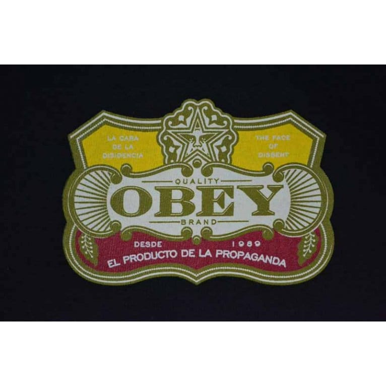 Obey El Producto Tee Black