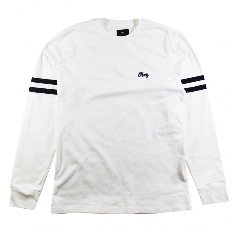Obey Era Longe Sleeve T-Shirt - White