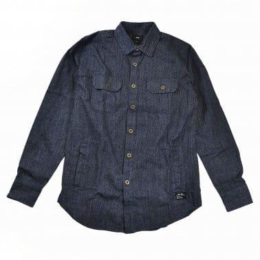 Gil Woven Shirt - Navy