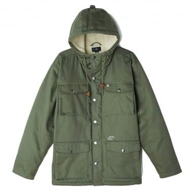 Heller Parka Jacket - Army Green
