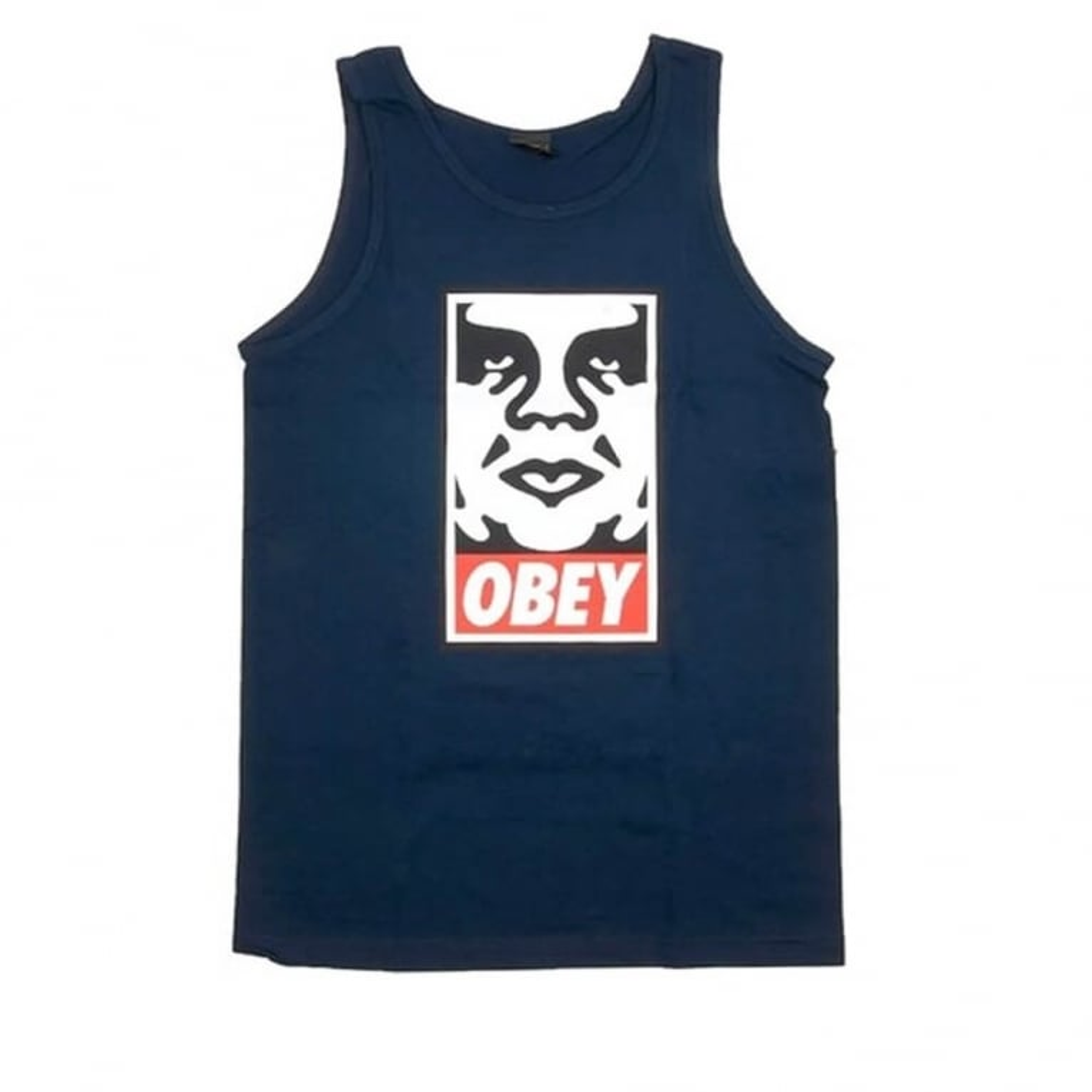 Obey Icon Face Vest Navy