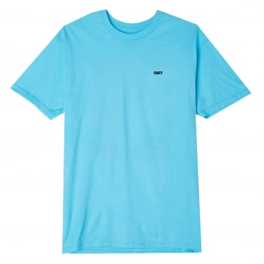 In Ruins T-Shirt - Pacific Blue