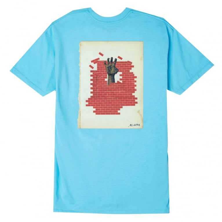Obey In Ruins T-Shirt - Pacific Blue