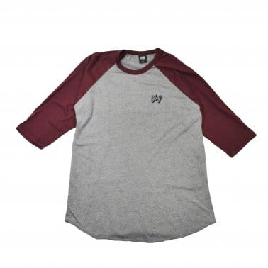 Innings Raglan - Heather Charcoal