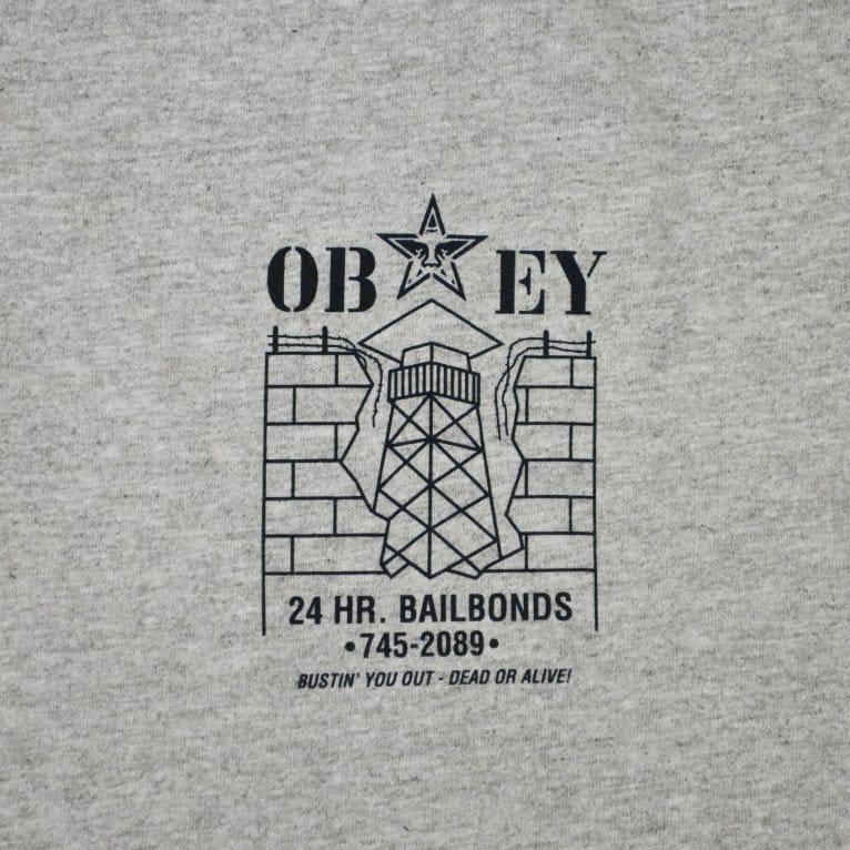 Obey Jailbreak Tee - Heather