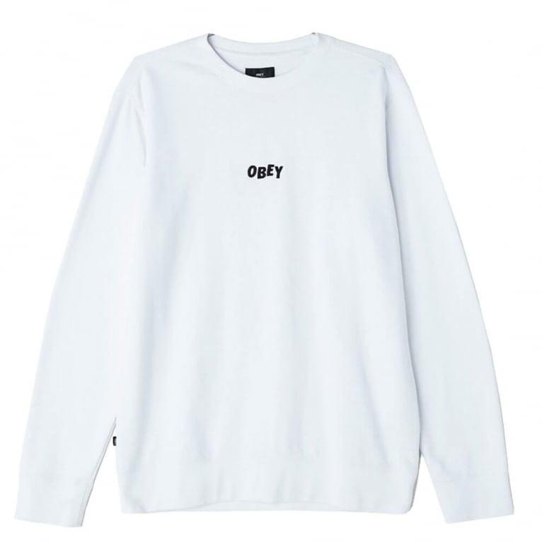 Obey Jumble Bars Crew Neck Sweatshirt